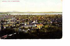 Montreal, Quebec, Canada  Bird's Eye View  1911