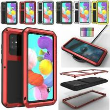 For Samsung Galaxy A51 A71 4G Waterproof Hard Armor Aluminum Case Screen Cover