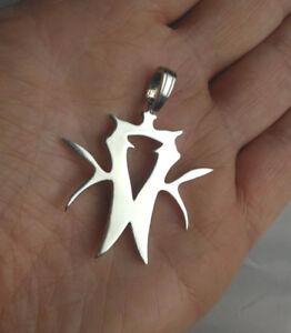 925 Sterling Silver - KOTTONMOUTH KINGS ,Charm,pendant,necklace, KMK,logo, icp