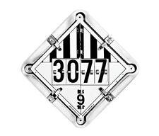 LabelMaster, Aluminum Flip Placard Duo-Flip, Qty 1, 126Ct-M9, 4216Lbb1