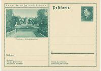 DT.REICH Friedrich Ebert 6 Pf 1932 Bildpost-GA POTSDAM – Schloß Sanssouci