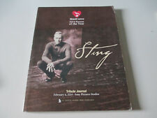 STING-POLICE-MUSICARES 2004 PERSON OF THE YEAR TRIBUTE JOURNAL-PAPERBACK BOOK
