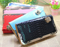 ladies women Quality Top Leather money Long Wallet Credit Card Holder Purse