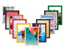 Bilderrahmen aus Holz von 10x15cm bis 80x90cm Fotorahmen Plakatrahmen