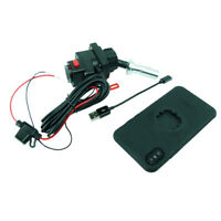Fil Alimenté 15-17mm Vélo Tige Support & Tigra Mountcase Pour Iphone 8