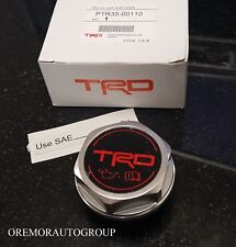 TRD OIL CAP Sequoia Tacoma Tundra Genuine Toyota Factory Accessory PTR35-00110