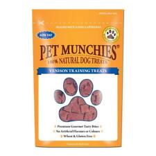 Pet Munchies Natural VENISON TRAINING TREATS Liver Dog Puppy Healthy Snacks 50g
