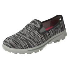 Zapatillas deportivas de mujer textiles Skechers color principal gris
