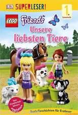 Fachbuch LEGO® Friends Unsere liebsten Tiere, Lesestufe 1 mit vielen Bildern NEU