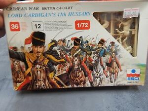 1/72 ESCI Lord Cardigans Hussars figures #220