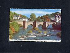 Postcard-  c1960's View of The Bridge over The River Dee, Llangollen, Wales