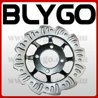 190mm Wave Brake Caliper Disc Disk Rotor PIT PRO Trail Quad Dirt Bike ATV Buggy