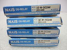 (NEW) NAIS DS Relay DS1E-M-DC24V AG201444 Box of 50