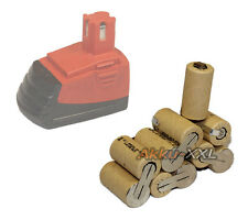Batterie pour Hilti sf121-a/sfb121/sfb126 - 12v 3,0ah NiMH NEUF
