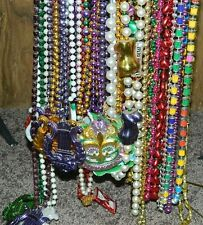 MARDI GRAS BEADS - LOT - MILLENNIUM 2000 - ZULU - ORPHEUS - ANGELS - HEARTS, ETC