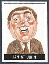 PANINI FOOTBALL 90- #479-CARICATURE-LIVERPOOL & SCOTLAND-IAN ST JOHN