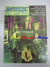 Rivista MUSIC & ARTS 159/1993 Janis Joplin Viktoria Mullova Wire Senzabenza Nocd