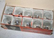New Box of 10 Stanley 12V 32/32CP Light Bulbs Motorcycle Volt A5226 1124 BA15D