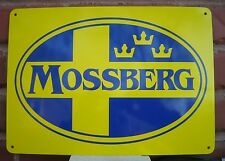 MOSSBERG & SONS Firearms Guns Shotgun Rifle Hunting Advertising Logo SIGN 10day