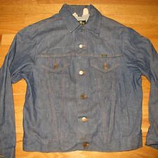VINTAGE ORIGINAL DENIM JACKET 1970s DEADSTOCK MAVERICK BLUE BELL WESTERN SIZE 42