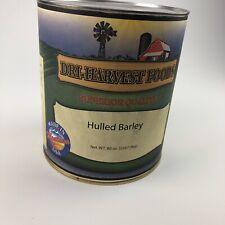 Dri Harvest Foods Montana Surivial Canned Hulled Barley 80oz 5lb