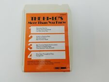 The Hi-Lo's 8 Track Tape More Than You Know Tangerine On The Alamo RARE Works