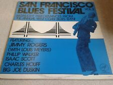 San Francisco Blues Festival Vol 2 - Various [Solid Smoke] (U.S. LP VG. Vinyl)