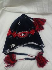 Montreal Canadiens Mens New Era Tassel Knit Hat