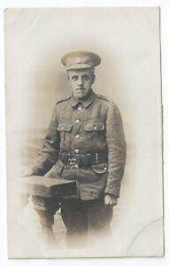 WW1 Cheshire Regiment Soldier Unused RP PC