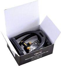 Tekna Steigbügel Flex Tek, leicht, 12cm, mit Gelenk, Metallauflage und Gummi