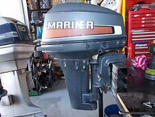 Mariner made by Yamaha 9.9HP -15HP Dismantling this outboard - SPARK PLUG