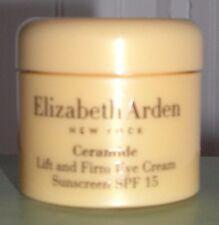 2 Elizabeth Arden Ceramide Lift & Firm Eye Cream SPF 15 .25 oz/7.3 g Each Jar