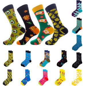 Mens Women Cotton Socks Novelty Animal Colorful Casual Funny Socks 36 Styles