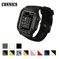 Waterproof Tactical Rugged For Apple Watch Band & Case Series 2 3 4 5 6 42/44mm
