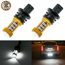 2 Pcs 6000K Xenon White Error Free PH24WY 12184 LED Bulbs Backup Reverse Lights