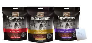 Merrick Backcountry Dog Jerky 4.5OZ      Free Shipping