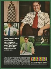 The Comfort Shirt from Sears  1973_Vintage Print Ad