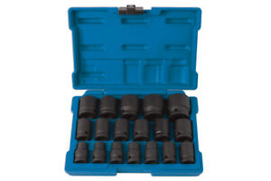 Laser Tools 6648 Impact Socket Set In Case 1/2 Drive 10mm To 32mm