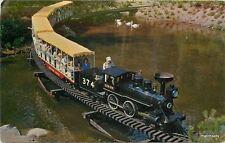 1950s Miniature Railroad Train Stanley Park Vancouver BC Canada 6697