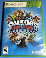 Xbox 360 Skylanders Lot 4 GAMES Trap Team, Spyros Adventure, Swap Force, Giants