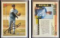 Joe Randa Signed 1993 Bowman #237 Card Kansas City Royals Auto Autograph