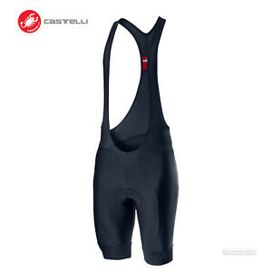 NEW 2021 Castelli ENTRATA Cycling Bib Shorts : SAVILE BLUE