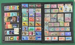PITCAIRN ISLANDS STAMPS ON 3 LARGE STOCK CARDS  (Z186)