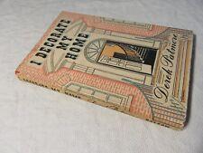 1948 I DECORATE MY HOME - Derek Partmore - Mid Century Interior Decorating HB-DJ