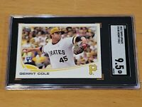 2013 Topps Update US150 Yellow Hat Gerrit Cole RC SGC 9.5 Rookie PSA