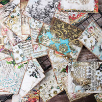 31x Retro Ornate Blume Papier Hintergrund DIY Scrapbooking Album Card Making