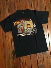 Vintage 80s Harley Davidson Milwaukee Wisconsin T shirt size medium made in USA