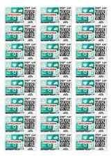 48 Etiquettes à imprimer pour timbres Mon timbre en ligne 63,5 x 33,9 mm