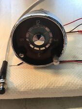 Volvo P18 Car Clock Upgraded To Quartz. Exchange Seevice Only.