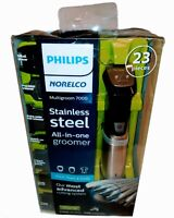 Philips Norelco All-in-One Multigroom 7000 Trimmer 23 Pieces Stainless Steel